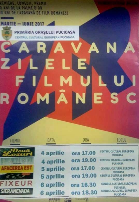 Caravana Zilele Filmului Românesc la Pucioasa